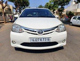 2013 Toyota Platinum Etios MT for sale in Ahmedabad