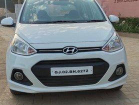 2014 Hyundai i10 Sportz 1.2 AT for sale at low price in Ahmedabad