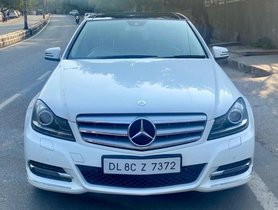 Mercedes Benz C-Class 220 CDI AT 2013 for sale in New Delhi