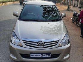 Used Toyota Innova 2.5 GX 8 STR, 2010, Diesel MT for sale in Mumbai