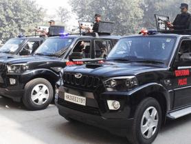 Modified Mahindra Scorpio SUVs Gifted to Gurgaon Police