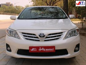 Used 2012 Toyota Corolla Altis G MT for sale in Ahmedabad