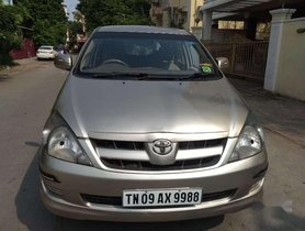 Used Toyota Innova 2.0 G4, 2008, Diesel MT for sale in Chennai