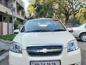 Used 2009 Chevrolet Aveo MT for sale in Chandigarh