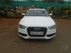 Used Audi A4 2.0 TDI 2013 AT for sale in Mumbai