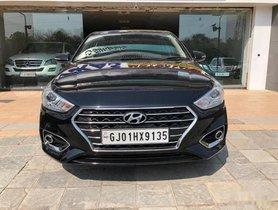 Used Hyundai Verna CRDi 1.6 AT SX Plus 2017 in Ahmedabad