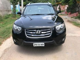 Used Hyundai Santa Fe 4 WD, 2011, Diesel AT for sale in Hyderabad