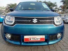 Maruti Suzuki Ignis 1.2 Alpha 2017 MT for sale in Bangalore