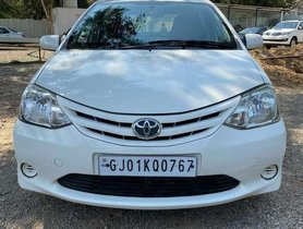 Used Toyota Etios Liva G 2012 MT for sale in Ahmedabad