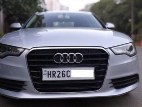 Used 2013 Audi A6 2.0 TDI Design Edition AT for sale in Gurgaon