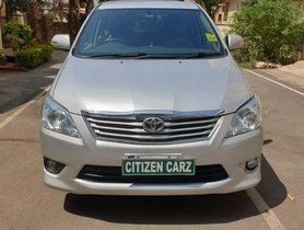 Used 2013 Toyota Innova MT 2004-2011 for sale in Bangalore