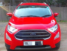 2017 Ford EcoSport Titanium Diesel AT for sale in New Delhi