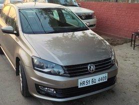 2017 Volkswagen Vento DIesel MT for sale in New Delhi