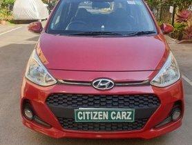 Used Hyundai i10 Sportz 2017 MT for sale in Bangalore