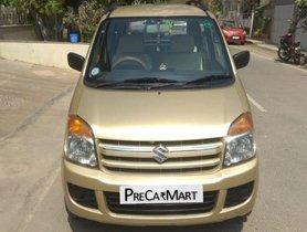 Used Maruti Suzuki Wagon R LXI 2008 MT for sale in Bangalore