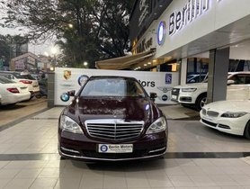 2011 Mercedes Benz S Class AT for sale at low price in Pune