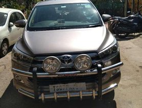 Used Toyota Innova Crysta 2016 MT for sale in Hyderabad