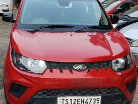 Used 2018 Mahindra KUV100 MT for sale in Hyderabad