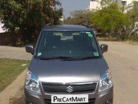 Used 2015 Maruti Suzuki Wagon R VXI MT car at low price in Bangalore