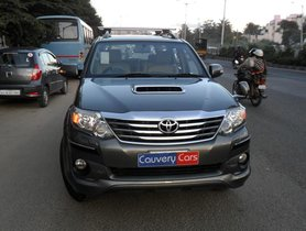 Toyota Fortuner 4x4 MT 2012 for sale in Bangalore