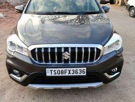 Used Maruti Suzuki S Cross 2018 MT for sale in Hyderabad