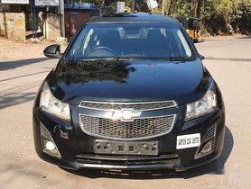 Used Chevrolet Cruze LTZ 2010 MT for sale in Hyderabad