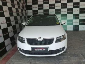 Used Skoda Octavia RS 2015 AT for sale in Chennai