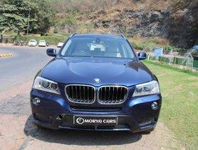 Used 2013 BMW X3 xDrive20d AT car at low price in Mumbai