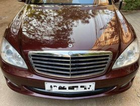 Used Mercedes Benz S Class 2009 AT for sale in Hyderabad