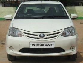 2013 Toyota Platinum Etios MT for sale at low price in Coimbatore