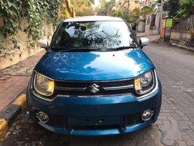 Used Maruti Suzuki Ignis 1.2 AMT Zeta 2017 AT for sale in Mumbai