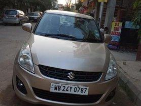 Used 2013 Maruti Suzuki Dzire VXI MT car at low price in Kolkata