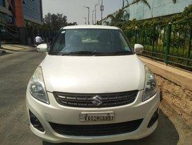 Maruti Suzuki Dzire VXI MT 2012 in Bangalore