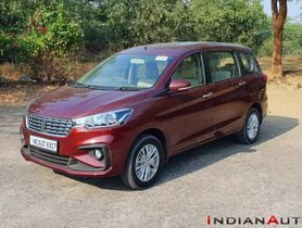 Toyota-Badged Maruti Ertiga Could Launch Next Year