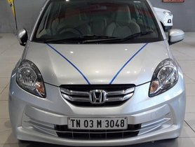 Honda Amaze S Diesel 2014 MT for sale in Chennai