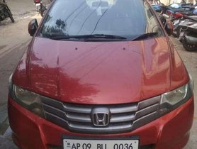 Used Honda City S 2009 MT for sale in Hyderabad