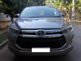 Toyota Innova Crysta 2.4 VX MT 2017 for sale in Bangalore