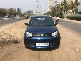 Maruti Suzuki Ignis 1.2 AMT Delta 2018 AT for sale in Ahmedabad