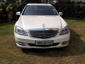Used Mercedes-Benz S-Class S Class 300, 2013, Petrol AT for sale in Kolkata
