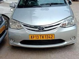 Used Toyota Etios GD, 2013, Diesel MT for sale in Hyderabad