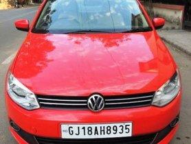 Volkswagen Vento Diesel Highline 2012 MT for sale in Ahmedabad