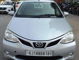 Toyota Platinum Etios MT 2015 in Ahmedabad