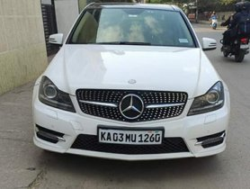Used 2014 Mercedes Benz C-Class C 220CDIBE Avantgarde Command AT car at low price in Bangalore