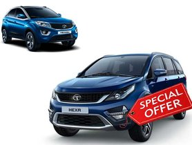 Tata Hexa Available for Price of a Nexon - Huge Discounts!