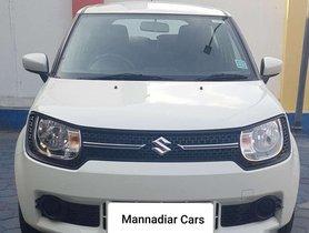 Used 2017 Maruti Suzuki Ignis 1.2 AMT Delta AT for sale in Coimbatore