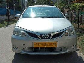 Used 2015 Toyota Etios GD MT for sale in Hyderabad