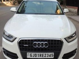 2013 Audi Q3 2012-2015 AT for sale at low price in Ahmedabad
