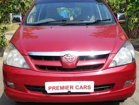 Used 2008 Toyota Innova 2004-2011 MT car at low price in Bangalore