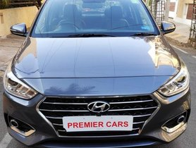 2018 Hyundai Verna 1.6 VTVT SX Option MT for sale at low price in Bangalore