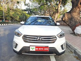 Hyundai Creta 1.6 CRDi SX Plus Dual Tone 2017 MT for sale in Bangalore